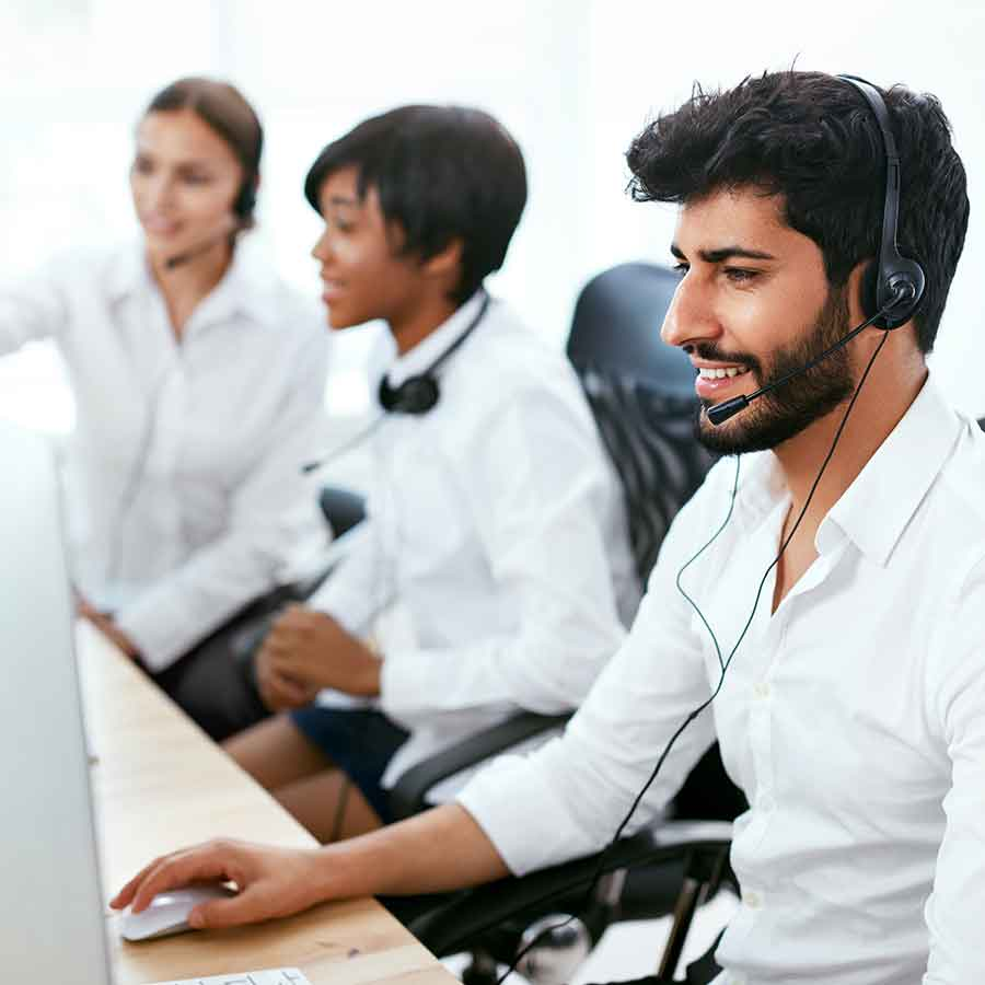 Multicultural call centre